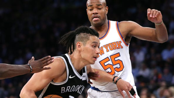 Jeremy Lin suffered a season-ending knee injury in