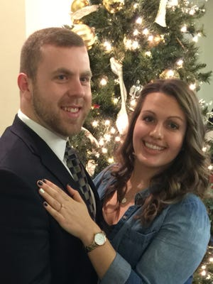Announcement has been made of the engagement of Kira Kristine Oshaben to Wilbur Craig Wolf. Miss Oshaben, daughter of Debra Hanak Oshaben, Lebanon, PA, and the late Alan Oshaben, is a 2008 graduate of Cedar Crest High School, a 2012 graduate of Penn State University and a 2015 graduate of West Virginia University. She will be employed as a pathologist assistant at the Chambersburg Hospital, Chambersburg, PA. Her fiancé, son of Amy and General Wilbur E. Wolf III, Mechanicsburg, PA is a 2008 graduate of Cumberland Valley High School and 2015 graduate of West Virginia University. Mr. Wolf is a Pennsylvania Army National Guard, Specialist, 11C indirect fire infantry, C. Co. 1-110th infantry. He is currently employed as digital campaign coordinator at The PA Media Group, Harrisburg, PA. A 2017 wedding is planned.