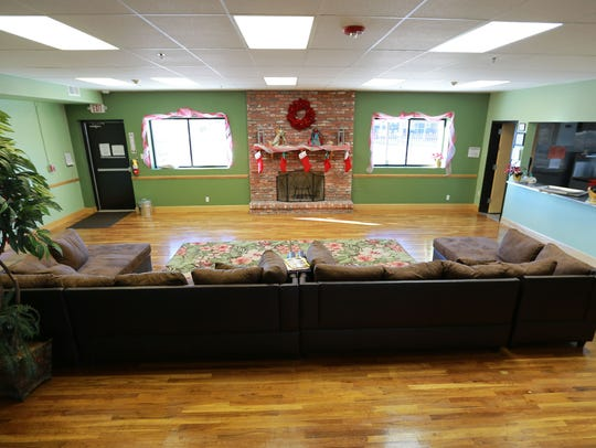 This is a community room at the new Salubris Adult