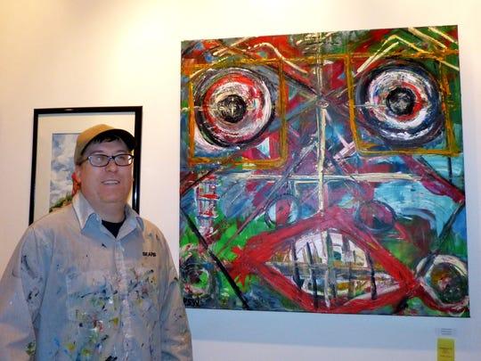 3rd Place, pigment: Paul Warfel Emotional Discord Acrylic