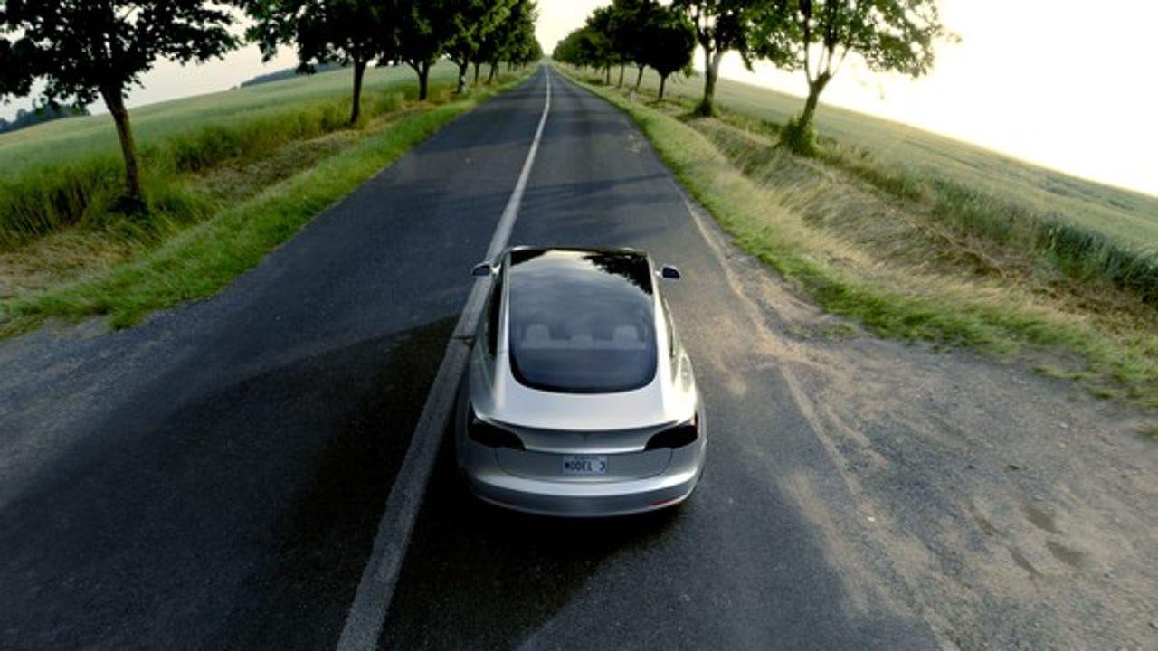 Tesla's Model 3 and it's key specs