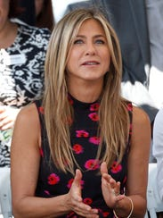 Jennifer Aniston is donating $500,000 to both the American