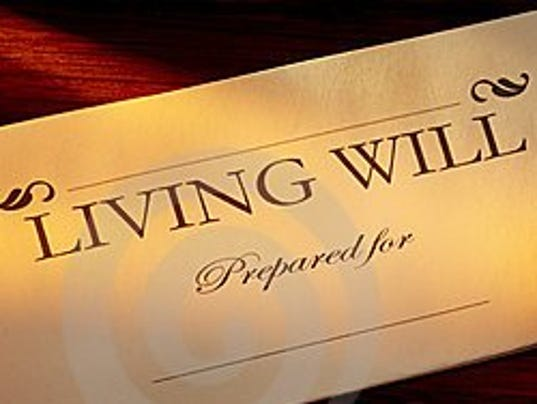living wills Living wills living wills a living will is best defined as a written declaration that informs medical personnel of your desire not to have life-sustaining procedures induced if you are diagnosed as terminally ill and you cannot participate in the decision-making process regarding your.