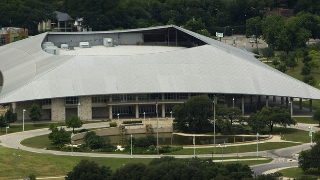 The city of Austin's budget meeting is scheduled to be held at the Palmer Events Center, a city-owned property at 900 Barton Springs Road.