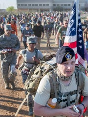 The 2017 Bataan Memorial Death March had a total of