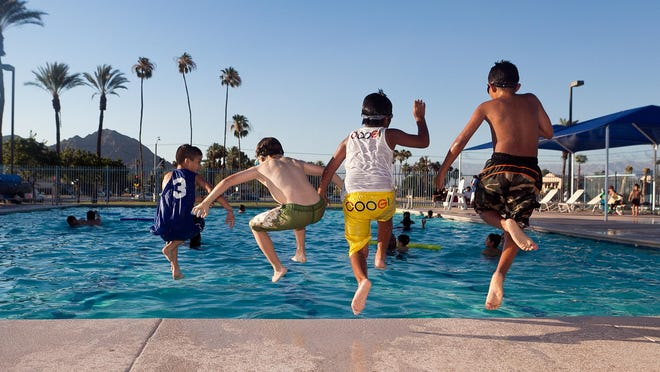 Fritz Burns pool in La Quinta may soon open year-round, after city officials received a petition of 70 signatures from La Quinta Mermaids, an adult swim group seeking additional water aerobics programs. The pool is currently open from mid-June through end of August.
