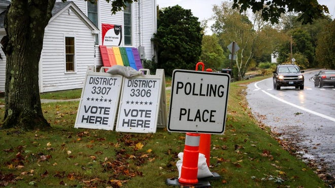 The town had hoped to combine polling places in the Nov. 3 presidential election but the Board of Canvassers has been informed by the state that all seven polling locations must be open.