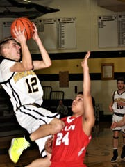 West Milford's Andrew Finke recently completed his senior basketball season with the Highlanders and scored his 1,000th career point earlier this year.