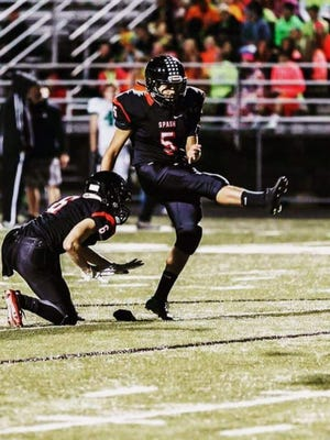 Senior placekicker Joey Dorgan, Jr. delivered a game-winning field goal in the closing seconds of a 37-34 win for SPASH in a state quarterfinal matchup with Bay Port on Nov. 4.
