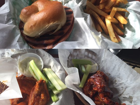 Romig's Tavern in Rochester is a true neighborhood bar. The beer is cheap and the food serves as the perfect complement. Above, the fried bologna sandwich. Below, the semi-famous chicken wings with two different sauces.