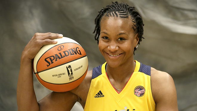 Indiana Fever forward Tamika Catchings will a recipient of the Indiana Sports Corp's 2016 Pathfinder Award