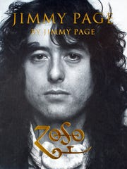 Cover of the book 'Jimmy Page' by former Led Zeppelin guitarist Jimmy Page.