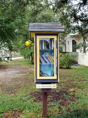 A Little Free Library on 12th Avenue and East Lloyd