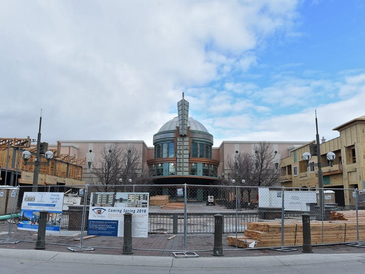 The Bridges are under construction on Victorian Square