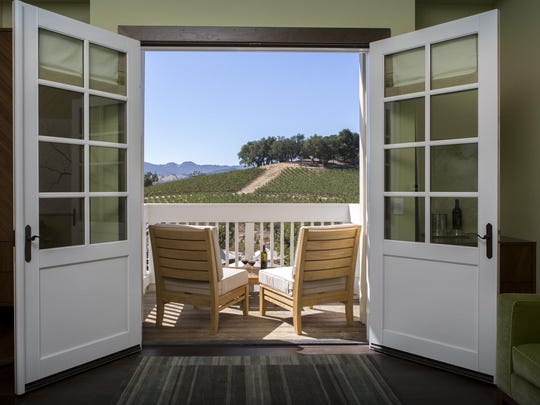 JUST Inn at JUSTIN Vineyards & Winery has a huge following for such an intimate inn with romantic stays submerged in the vineyards.
