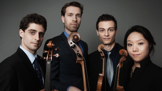 The Tesla Quartet kicks off the 46th season of Warren Wilson College's Swannanoa Chamber Music Festival June 25 at 7:30 p.m.