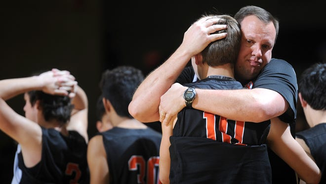 "Nocona basketball head coach Bret Botard made ""an extremely tough"" decision leaving the Indians to be closer to his grandchildren. Botard is the new head coach at Quinlan Ford."