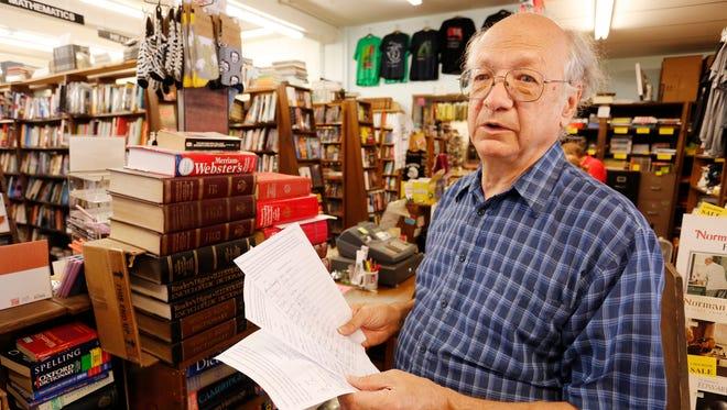 John von Erdmannsdorff owns Von's Shops on State Street in West Lafayette's Village area, two blocks from Purdue University.