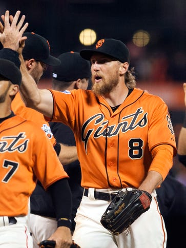 The Giants are 14-3 since Hunter Pence returned from