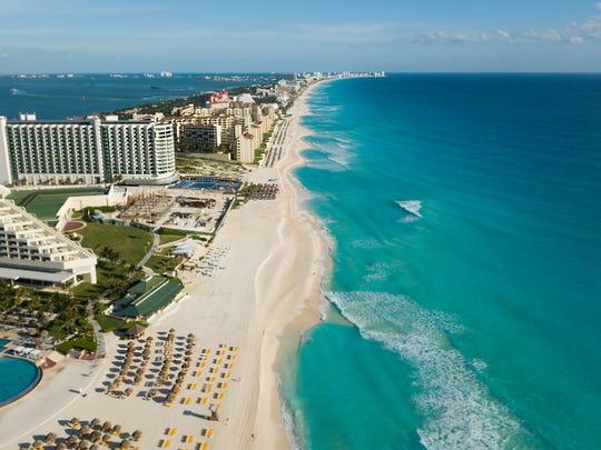 No. 6: Cancun, Mexico (96.8%)