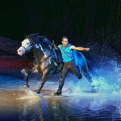 More than five dozen horses saddle up for Cavalia's 'Odysseo' in Scottsdale