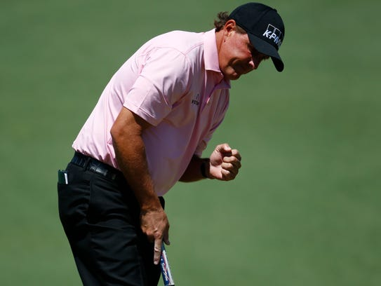 Phil Mickelson is a three-time Masters champion who