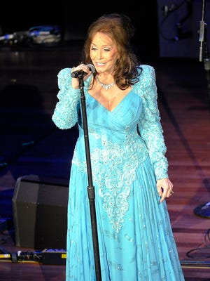Loretta Lynn's yearly gospel festival is set for Saturday and Sunday.