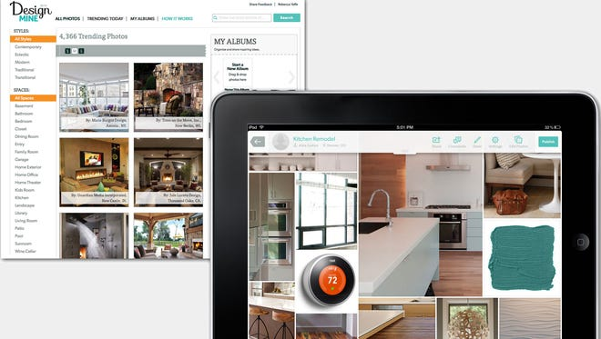 Home Advisor's new DesignMine app.