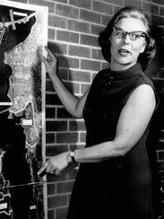 Irene Gossin speaks in March 1970 about environmental