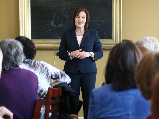 Gubernatorial candidate Mary Taylor made a campaign