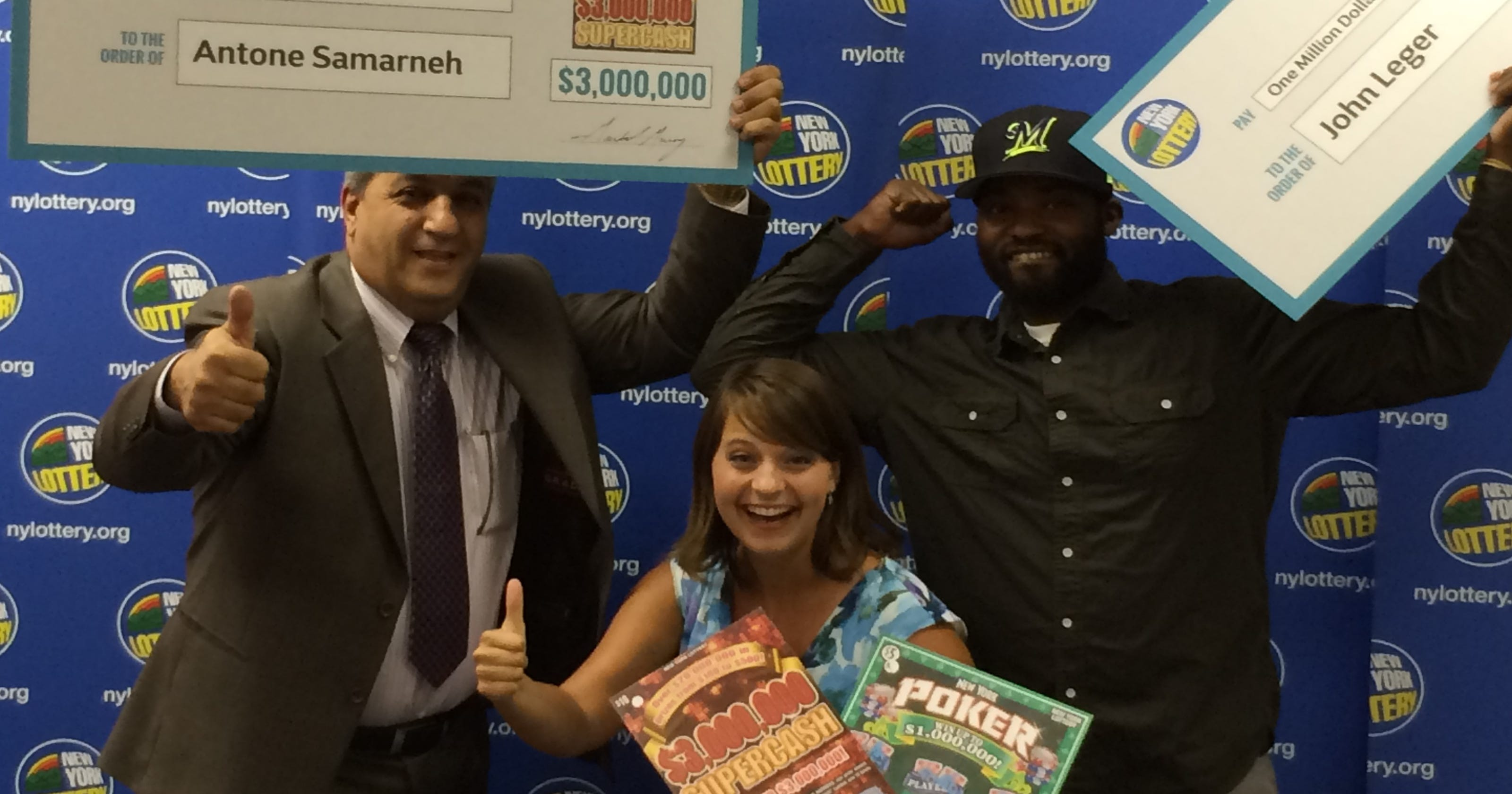 2 local men scratch off millions in Lottery wins