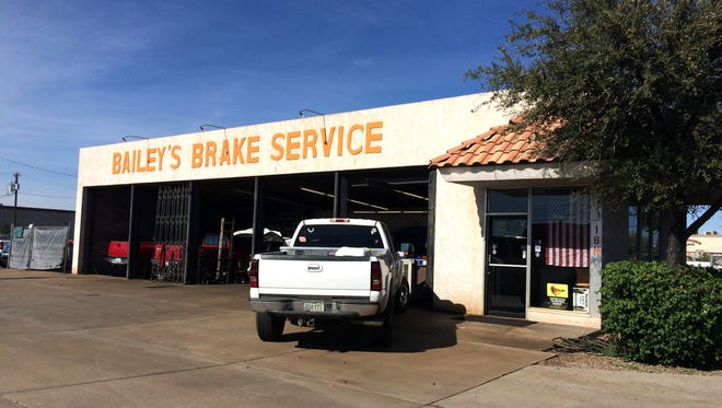 Bailey's Brake Service was the site of an ugly eminent-domain battle in the early 2000s. Mesa is again trying to develop the northwestern corner of Country Club Drive and Main Street in Mesa, now with the shop owner's participation.
