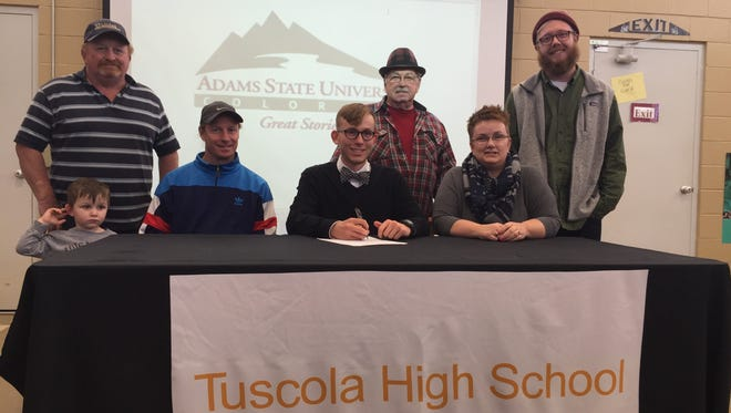 Tuscola senior Jacob Franklin has signed to run cross country and track for Adams State (Colo.).