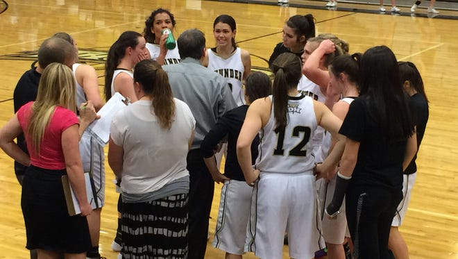 Despite a furious comeback attempt by Desert Hills, Snow Canyon held on for a 63-55 road victory to stay undefeated in Region 9 play.