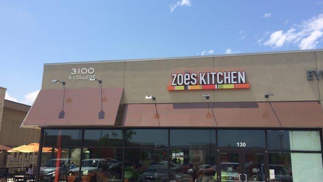 Zoes Kitchen will open to the public Tuesday on Foothills mall property in Midtown Fort Collins.