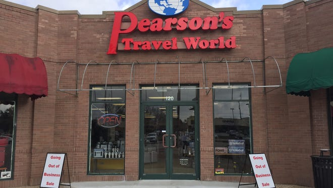Pearson's Travel World in Lafayette will close in March. The store has been open for 38 years.