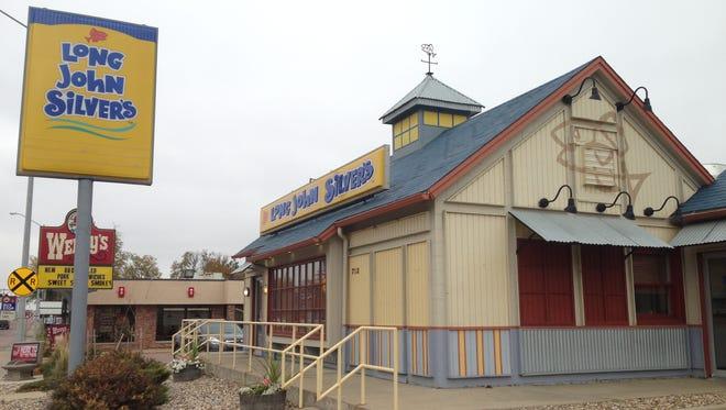 Long John Silver's has closed.