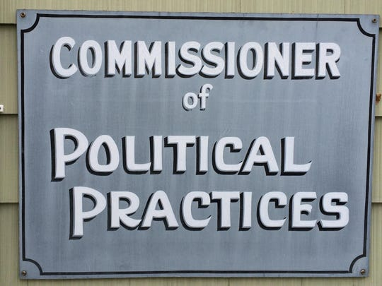 The Commissioner of Political Practices' office in Helena.