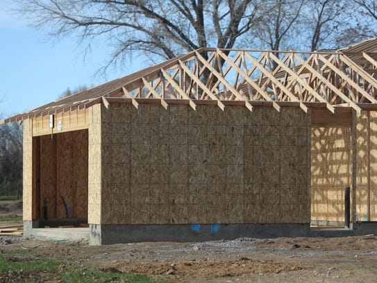 Shasta county families build their own homes with chip for Down payment to build a house