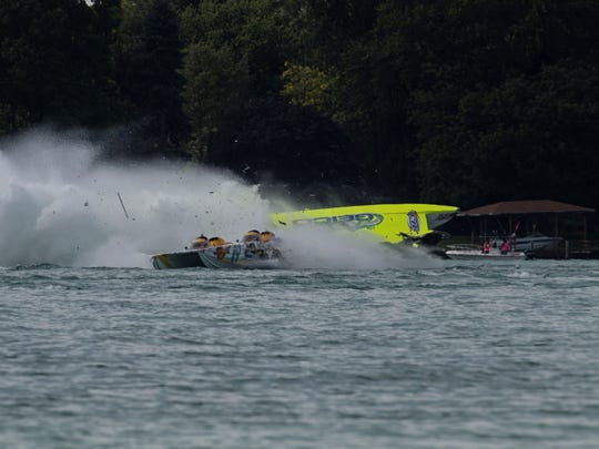 Keith Holmes died following a powerboat crash Sunday in the St. Clair River.
