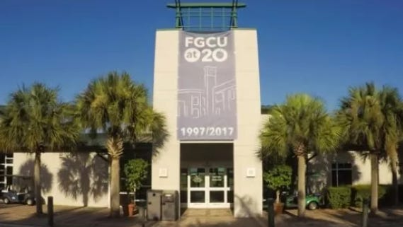 FGCU President Michael Martin was quizzed about school graduation rates at a meeting with the Lee County Legislative delegation Wednesday.