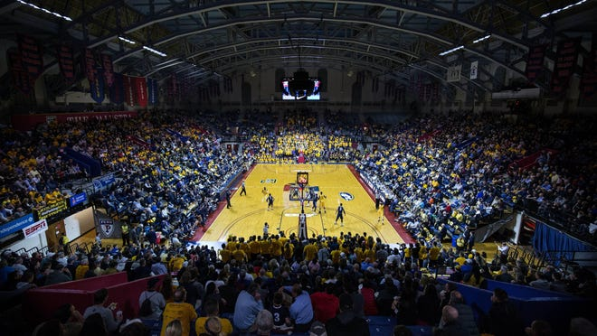 Michigan State and Penn State will meet that The Palestra, the famed college basketball cathedral in Philadelphia, which opened 90 years ago this week.