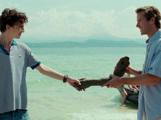 "Armie Hammer and Timothée Chalamet star in ""Call Me"