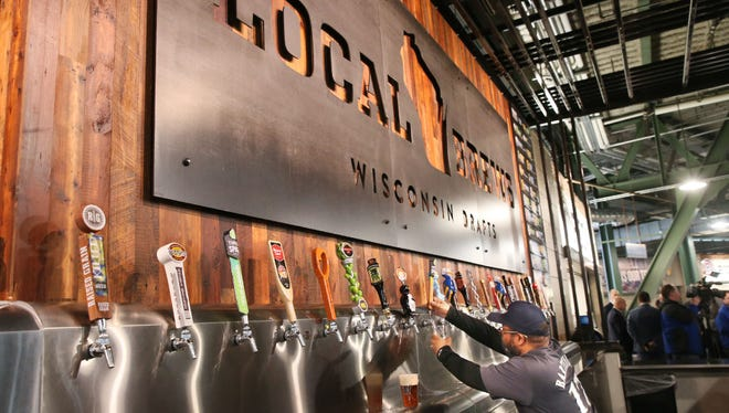 Miller Park has announced this year's lineup for the Local Brews bar.