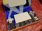 A Nintendo DS inspired Valentine's card box by Eloy