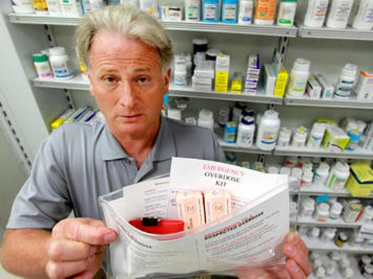 Avenue First, Dayton, Ky., pharmacist Sam Coletta was the first in Northern Kentucky to create and prepare naloxone kits to help turn around heroin overdose.