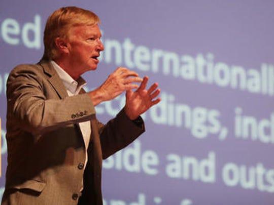 Robert McCunney, research scientist at MIT, speaks