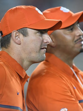 Clemson's Jeff Scott appears set to be the next head coach at South Florida