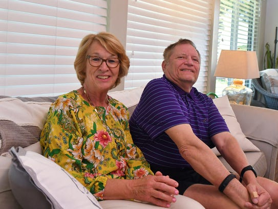 Indian River Colony Club's Fran and Mark Majcher, in