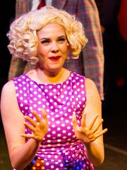 "Sammy Myrick plays Miss Adelaide in ""Guys & Dolls"""